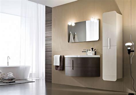 idea mobili bagno mobili bagno con lavabo curvo in ceramica ideagroup