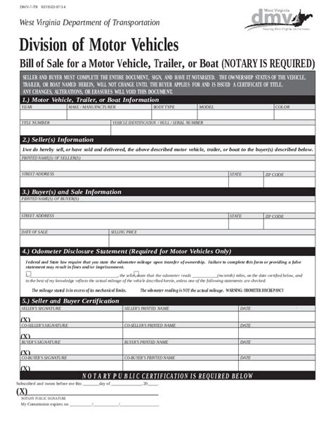 bill of sale dmv form edit fill sign online handypdf