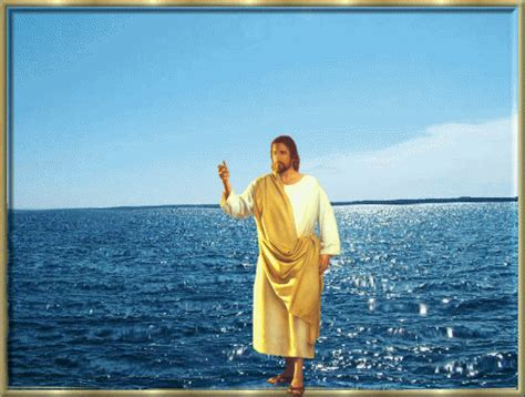 my god walks on water dede s walk with god our savior walked on water