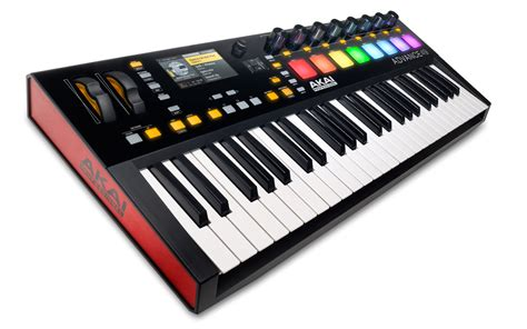 Keyboard Controller akai professional advance 49 49 key midi keyboard controller