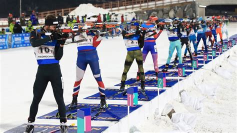 9 athletes to in the 2018 winter olympics books biathlon at the 2018 pyeongchang olympic winter
