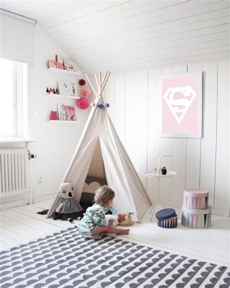trends playroom trend spotted teepee play tents modern eve