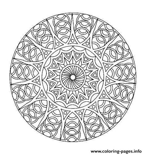 mandalas coloring pages on coloring book info free mandala difficult to print 8 coloring pages