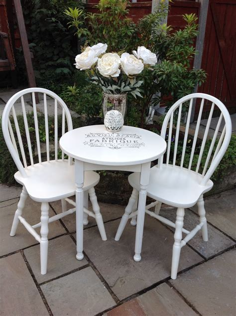 white shabby chic dining table small dining table