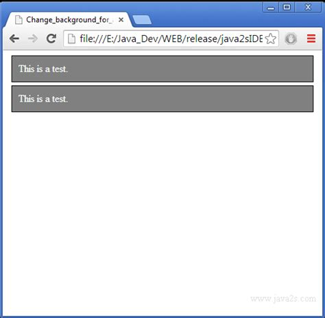 javascript element layout changed change background for a paragraph element in mouse out