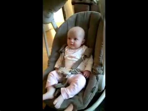 baby swing for 3 month old baby laughing her head off at 3 months old in her swing