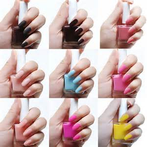 matte color nails 1 99 12ml frosted matte glossy color nail polishes