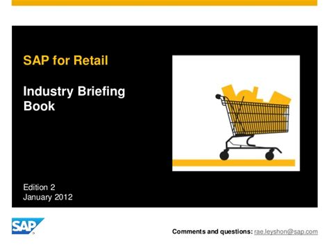 sap retail tutorial simplify your retail business processes with sap that