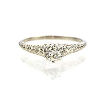 25 best ideas about delicate engagement ring on