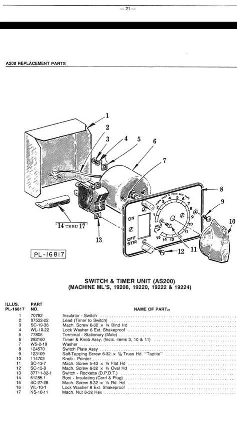 hobart mixer motor wiring hobart get free image about