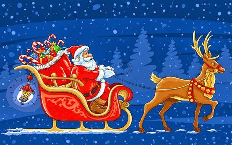 Santa S | santas reindeer names christmas clipart