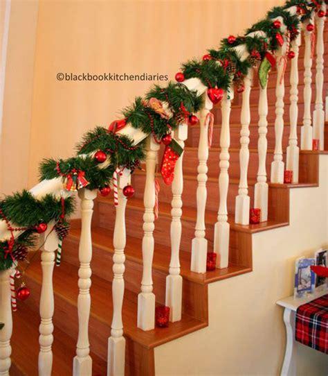 banister decorations for christmas 40 festive christmas banister decorations ideas all