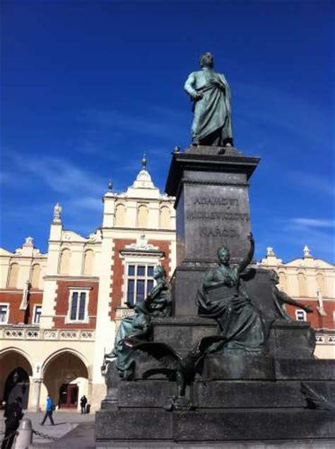 adam mickiewicz monument krakow sightseeing krakow