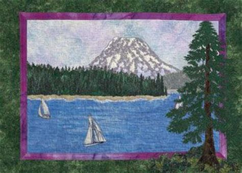 Landscape Quilts Step By Step 318 Best Images About Quilt Applique Pictures On