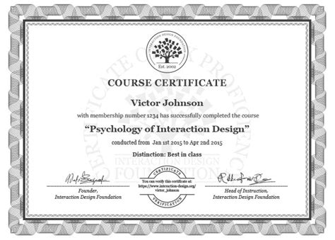best certificate courses user experience courses interaction design foundation