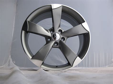 blade alloys new 18 quot tt rs blade alloys in gunmetal with polished edge