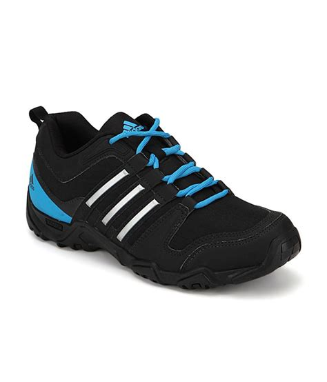 adidas outdoor shoes adidas lexton black outdoor shoes for men buy adidas