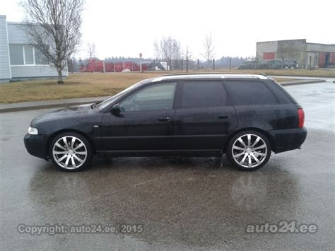 Audi A4 B5 Facelift by Audi A4 B5 S Line Facelift 1 9 Tdi 81kw Auto24 Ee
