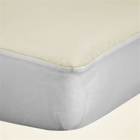 fitted crib mattress pad sealy allergy protection fitted crib mattress pad with