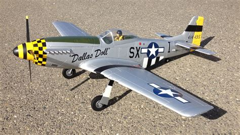 rc mustang plane maiden flight e flite p 51 mustang bnf basic wwii