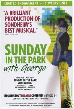 sunday in the park by blackietv mandy patinkin bernadette peters and stephen sondheim
