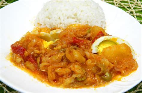 bacalao guisado cod fish bacalao ala vizcaina or basque style cod fish stew
