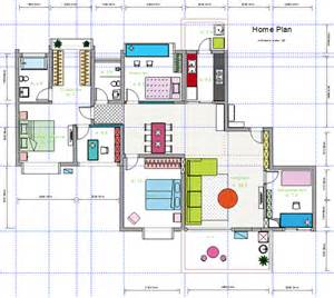 Home Design Examples by House Floor Plan Design