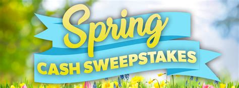 Fast Cash Sweepstakes - the view s spring 5 000 cash sweepstakes