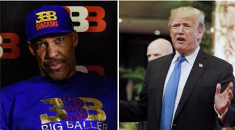 donald trump liangelo ball lavar ball takes shot at donald trump on twitter with