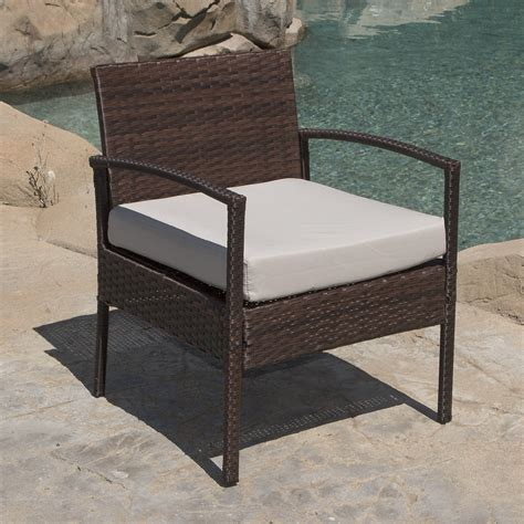 3 wicker patio set 3 pcs outdoor rattan wicker patio chat chairs table