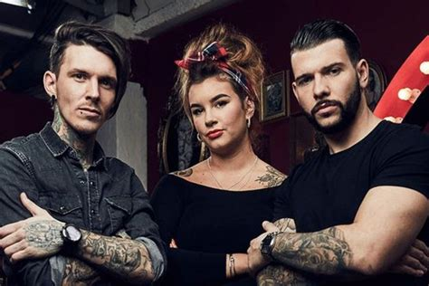 tattoo fixers new member tattoo fixers new tattoo artist glen carloss joins summer