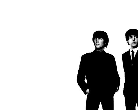 imagenes en blanco y negro de john lennon fondos de pantalla de the beatles en blanco y negro tama 241 o