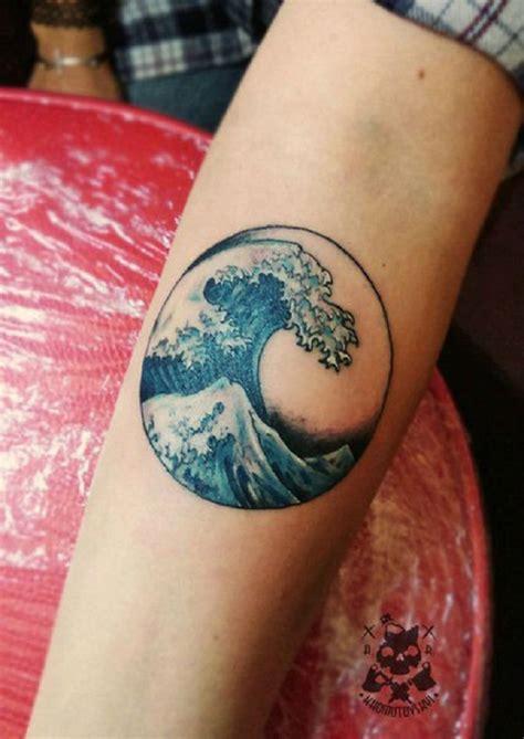 cartoon wave tattoo 35 wave tattoo design ideas nenuno creative
