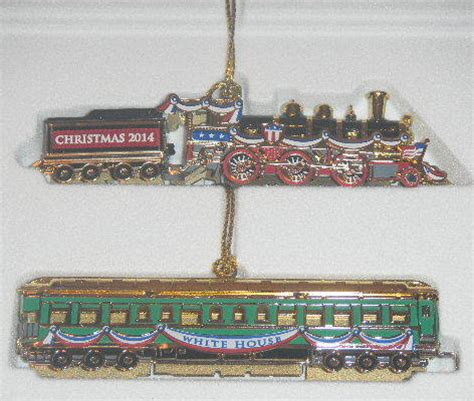 2014 white house historical association christmas ornament