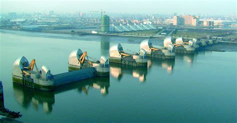 thames defence barrier the river thames