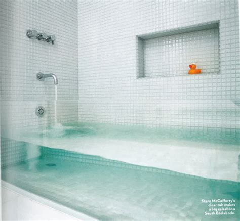 gorgeous bathrooms look from design blogs using clearly gorgeous glass in the bathroom qb