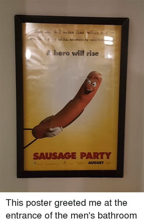 Sausage Party Meme - 3 gen michael james mig hill hader cera ranco mcbr s f ldd