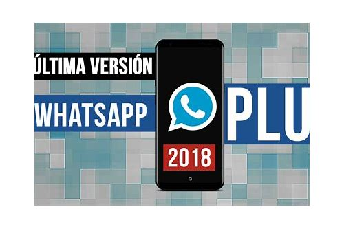 descargar whatsapp ultima version 2018