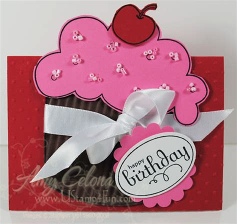 Cupcake Gift Card Holder - cupcake gift card holder simple birthday thanks card creations 1 pinterest