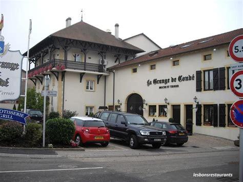 Restaurant Rue Des Granges Besançon by Cond 201 Northen 57 Restaurant La Grange De Cond 233 Les Bons