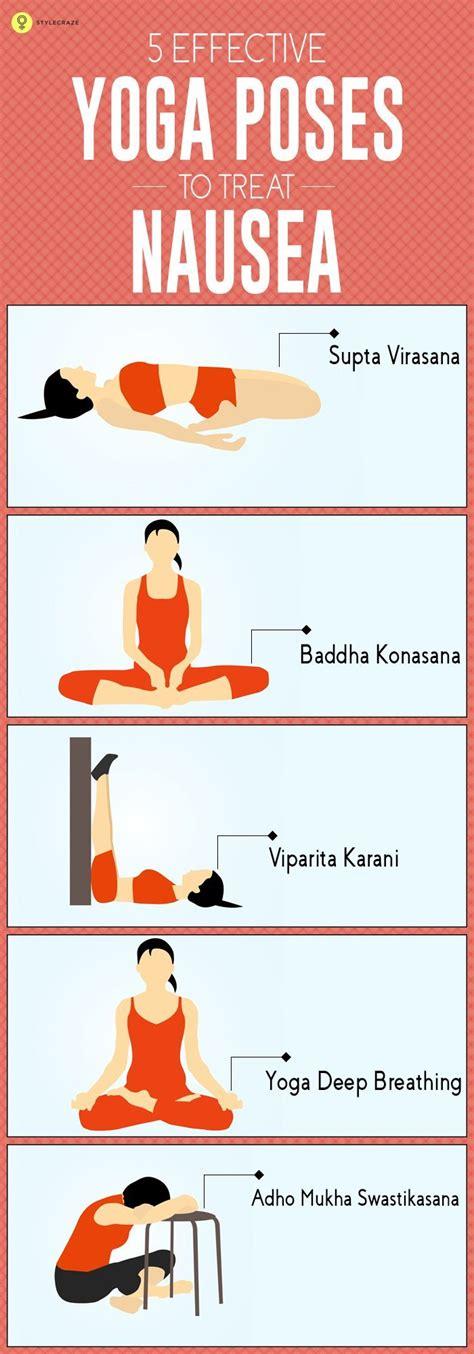 yoga asanas   rid  nausea  effective  yoga