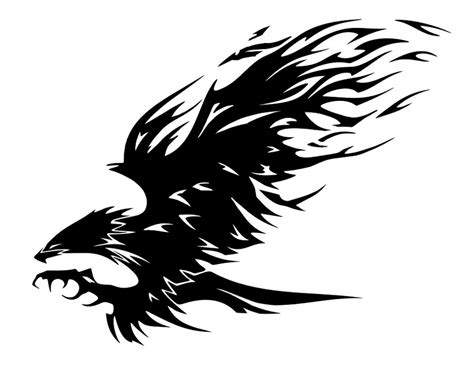 eagle tribal tattoo designs 16 awesome tribal eagle only tribal