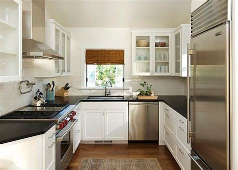 Small U Shaped Kitchen Layout Ideas by U Shaped Kitchen Designs For Small Kitchens Interior