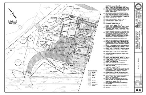 erosion and sediment plan template bay area drawings