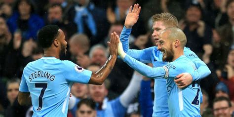 Tshirtt Shirtkaosoblongsablon Bola Klub Manchester City barca hanya peringkat 13 city klub paling kaya di dunia bola net