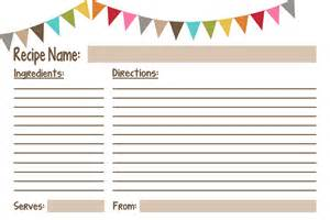 recipe cards free printables geminired creations