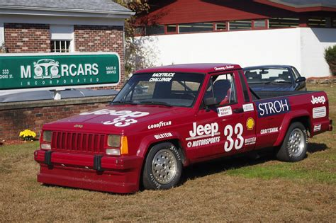 truck car racing bangshift com 1988 jeep comanche scca