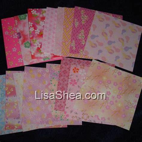 Mini Origami Paper - pink mini washi origami paper