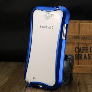 Bumper Mirror Samsung Galaxy Note 2 N7100 bumper aluminium vague coque metal pour samsung galaxy note ii n7100