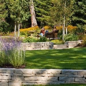 Terraced Backyard Landscaping Ideas Terraced Yard Design Sloped Back Yard Ideas
